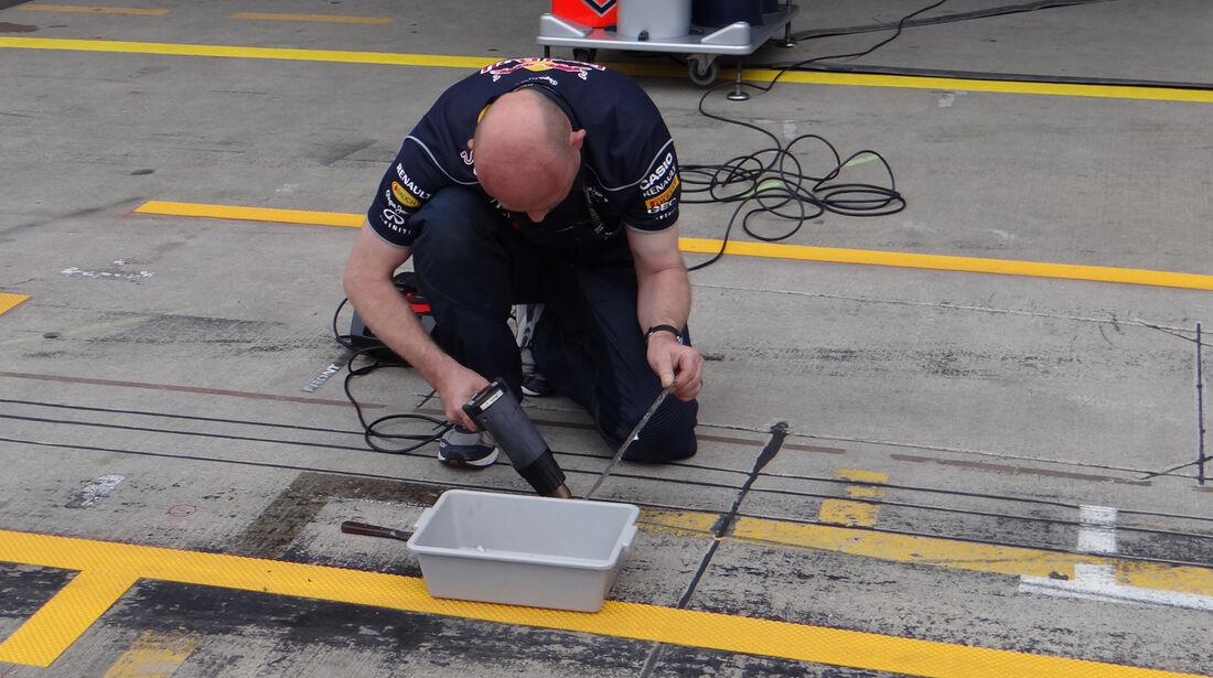 Red Bull - Formel 1 - GP Deutschland - 4. Juli 2013