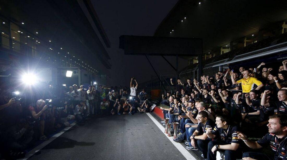 Red Bull - Formel 1 - GP Indien - 28. Oktober 2012