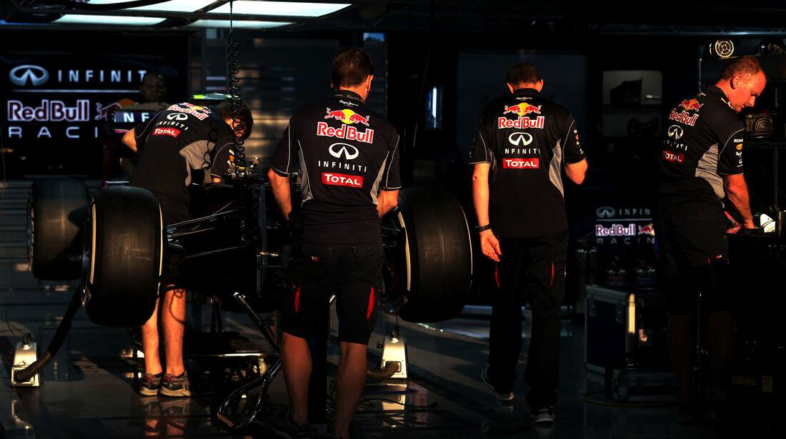 Red Bull - Formel 1 - GP Indien - Delhi - 24. Oktober 2013