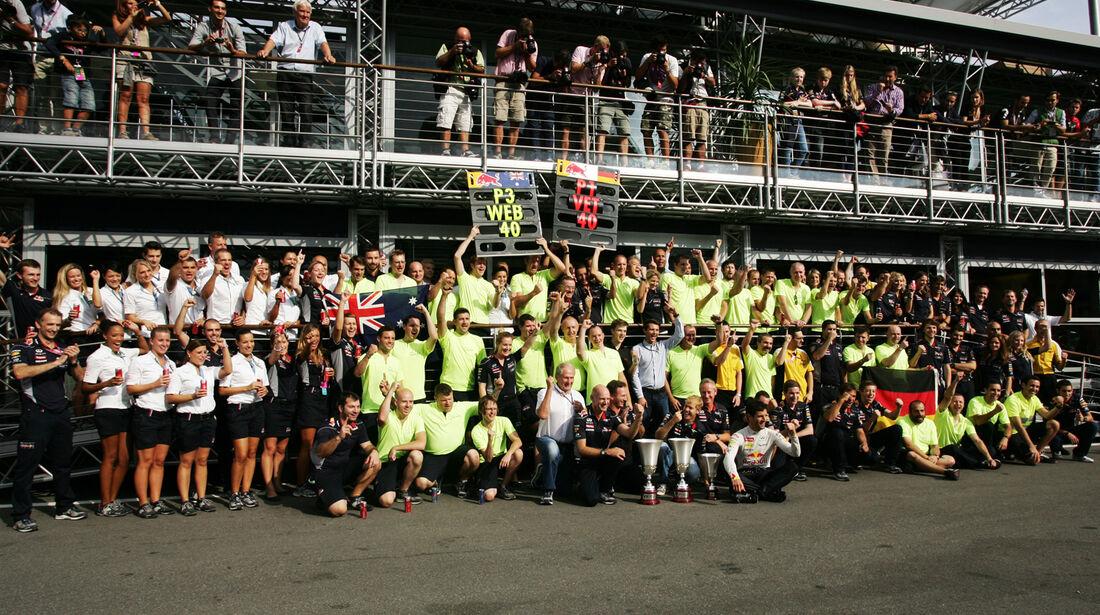 Red Bull - Formel 1 - GP Italien 2013
