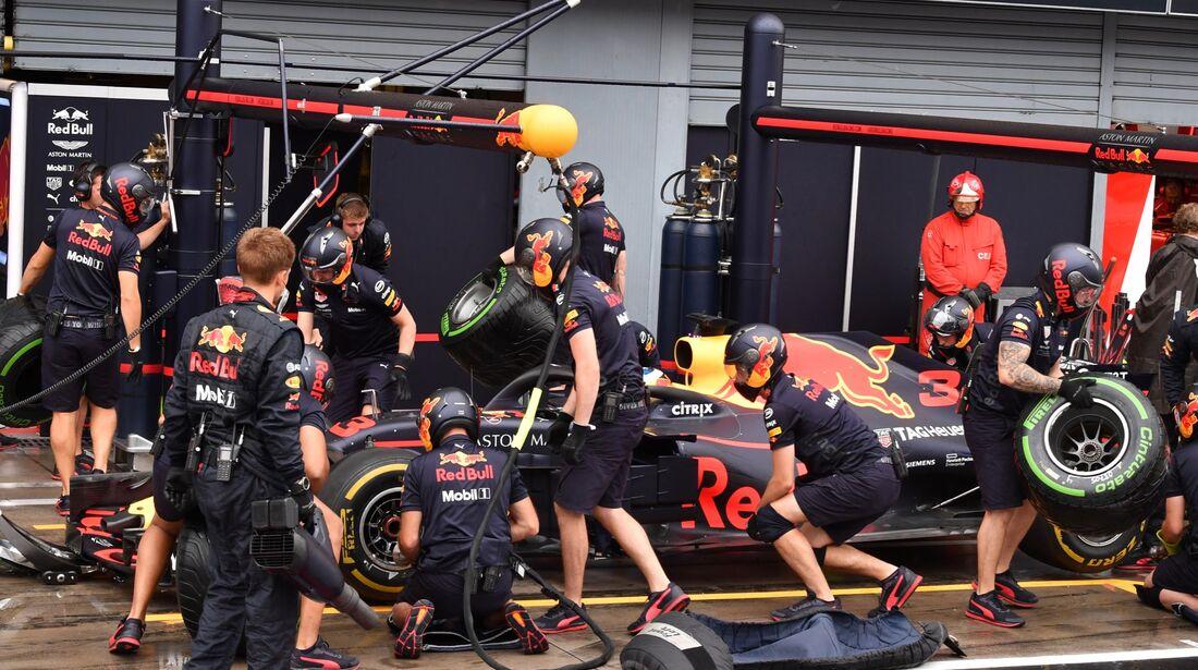 Red Bull - Formel 1 - GP Italien - 31. August 2018