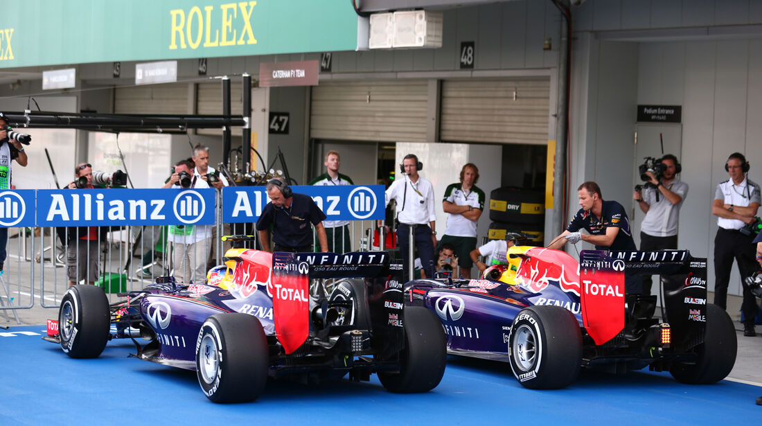 Red Bull - Formel 1 - GP Japan - Suzuka - 4. Oktober 2014