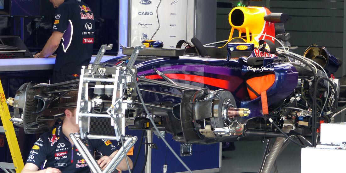 Red Bull - Formel 1 - GP Malaysia - Sepang - 27. März 2014