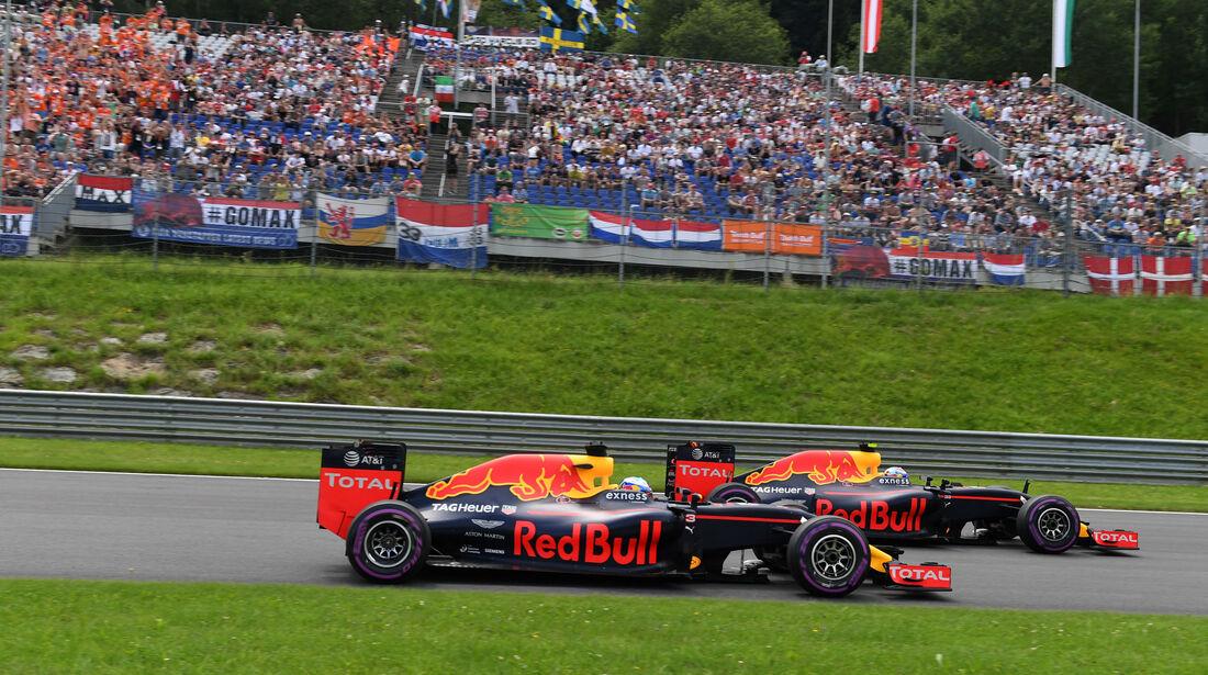 Red Bull - Formel 1 - GP Österreich - 2. Juli 2016