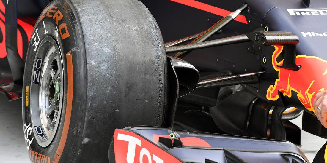 Red Bull - Formel 1 - GP Ungarn - 22. Juli 2016