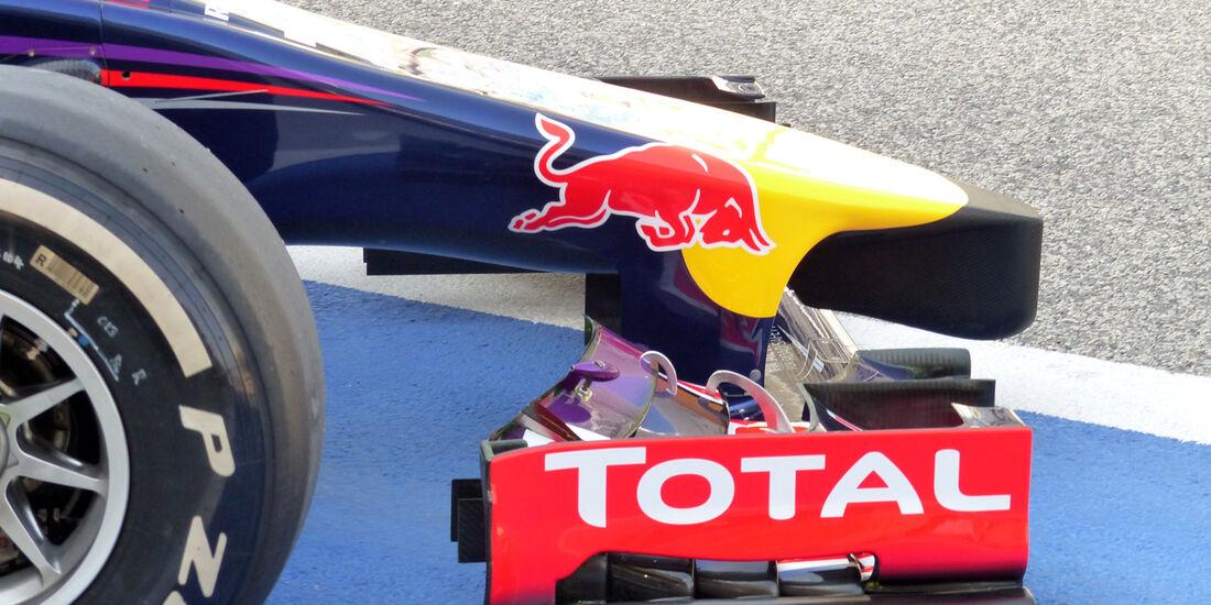 Red Bull - Formel 1 - Test - Bahrain - 27. Februar 2014
