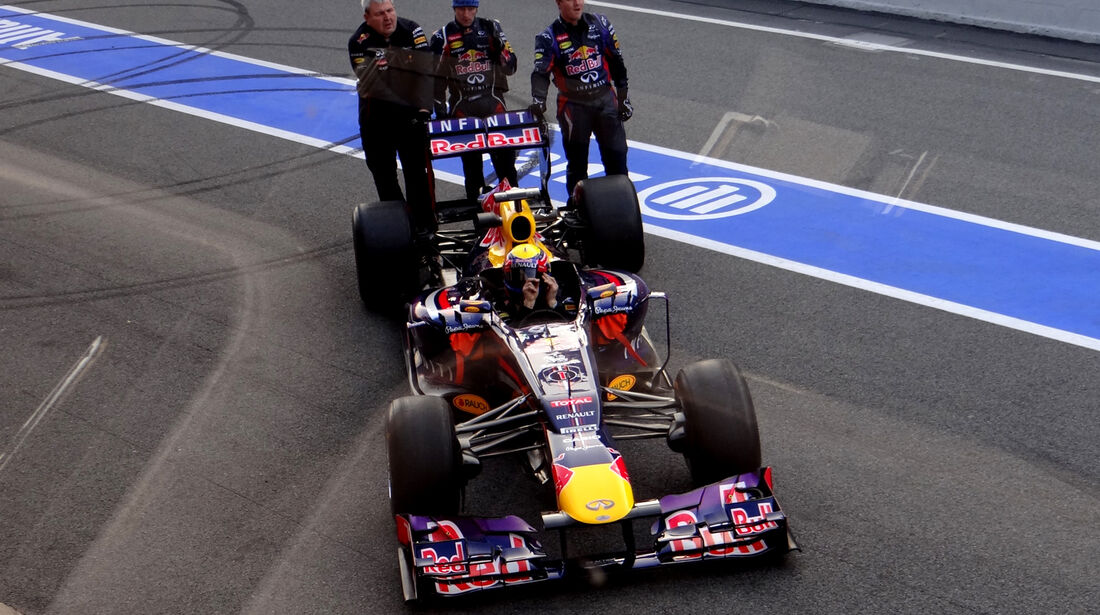 Red Bull - Formel 1 - Test - Barcelona - 20. Februar 2013