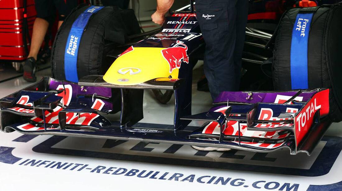 Red Bull Frontflügel - Formel 1 - GP China - 12. April 2013