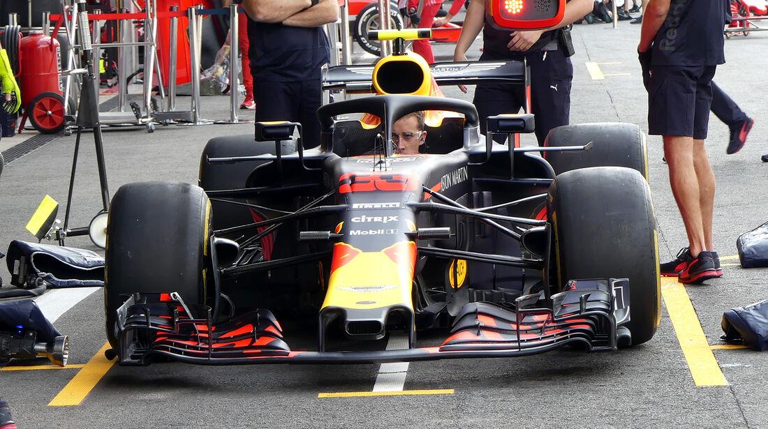 Red Bull - GP Belgien - Spa-Francorchamps - 24. August 2018
