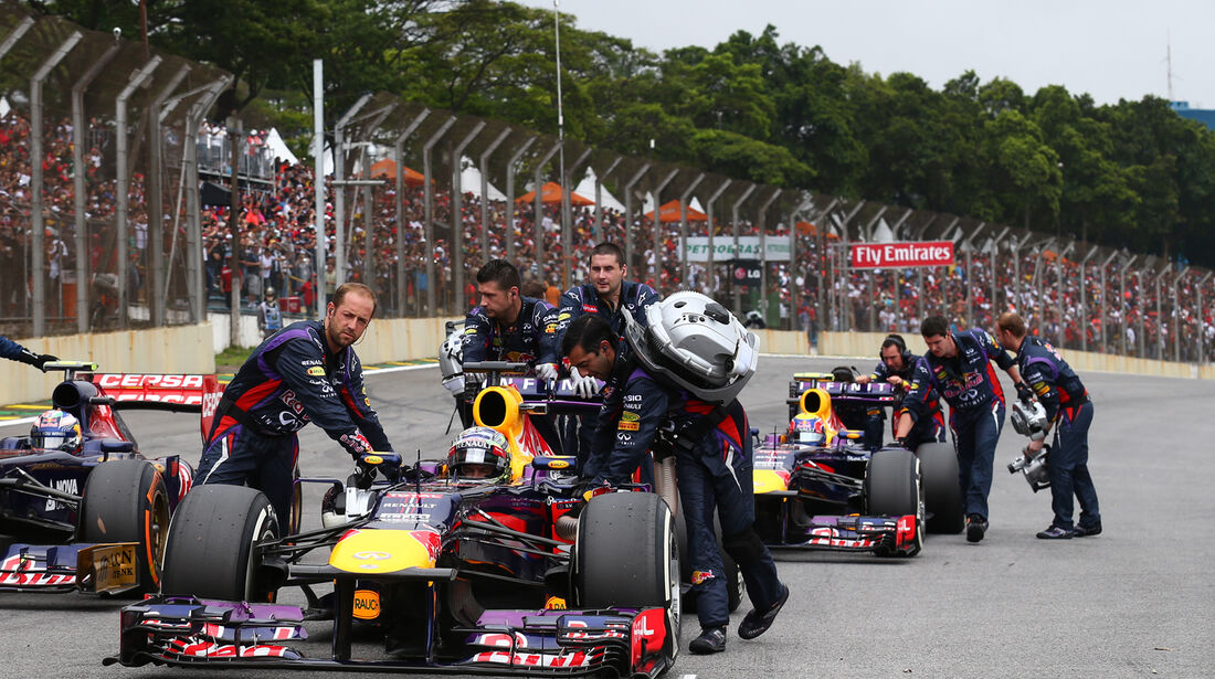 Red Bull - GP Brasilien 2013