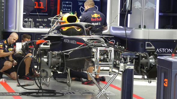 Red Bull - GP Brasilien 2018 - Donnerstag