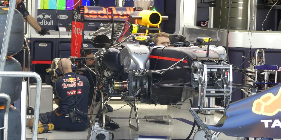 Red Bull - GP Brasilien - Sao Paulo - Interlagos - Donnerstag - 10.11.2016