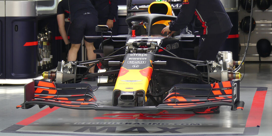 Red Bull - GP China - Shanghai - Formel 1 - Donnerstag - 11.4.2019