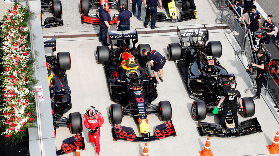 Red Bull - GP China - Shanghai - Samstag - 13.4.2019