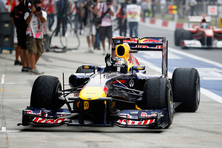 Red Bull GP Indien 2011