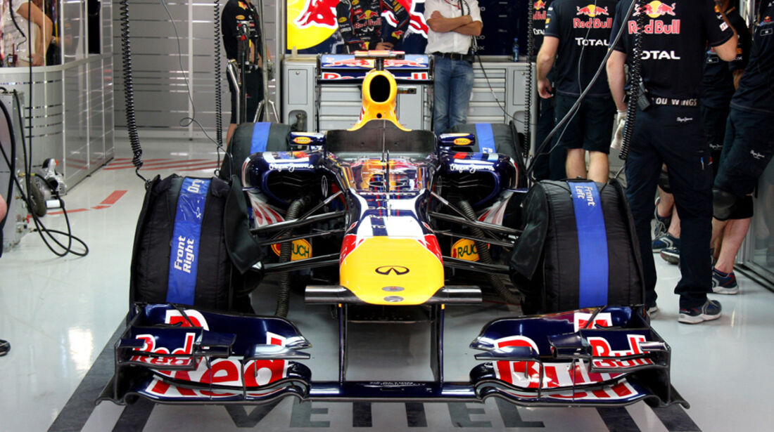Red Bull - GP Indien - Training - 28.10.2011