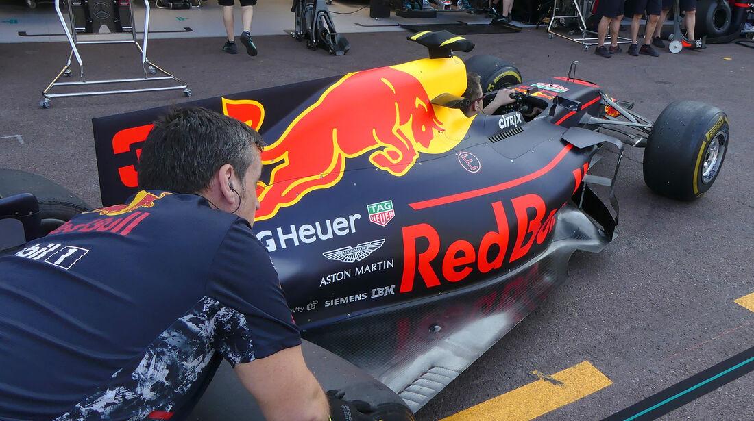 Red Bull - GP Monaco - Formel 1 - 24. Mai 2017