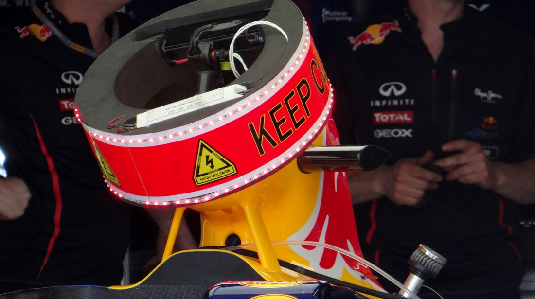 Red Bull KERS - GP Monaco - 23. Mai 2012