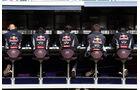 Red Bull Kommandostand - Formel 1 - GP England - 29. Juni 2013