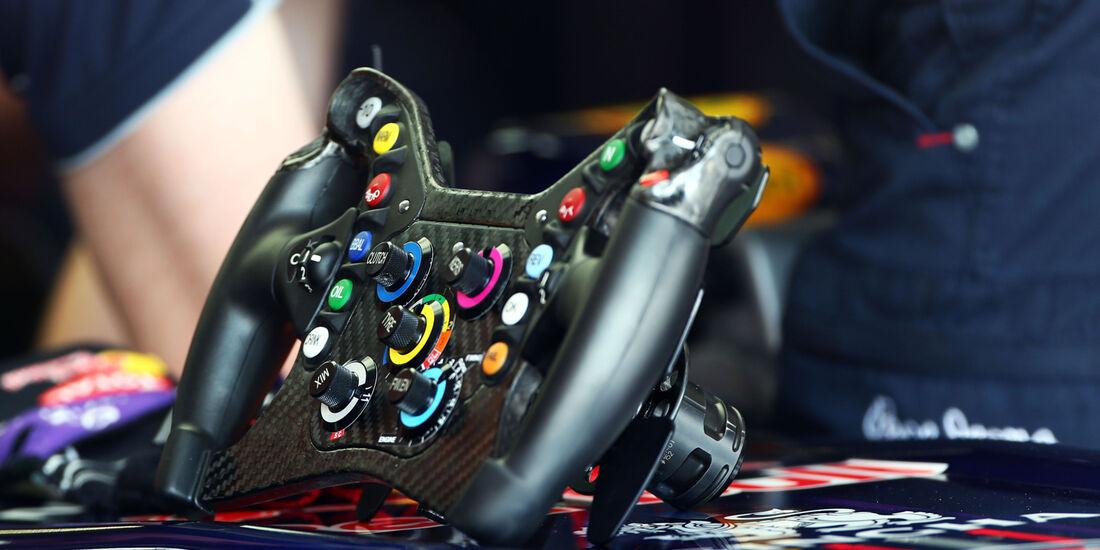 Red Bull-Lenkrad - Formel 1 - GP Deutschland - 6. Juli 2013