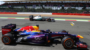 Red Bull Mercedes GP England 2013