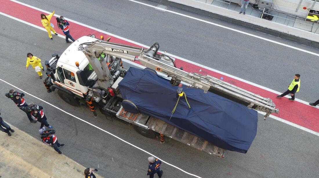 Red Bull RB13 - Testfahrten - Circuit de Barcelona-Catalunya - 27.2.2017