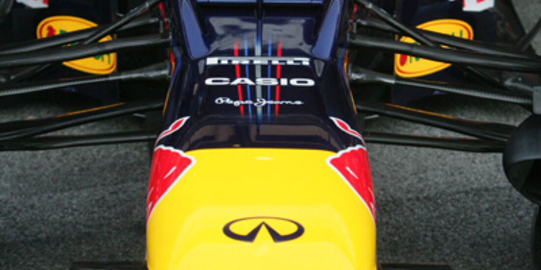 Red Bull RB8 2012 Formel 1 Test