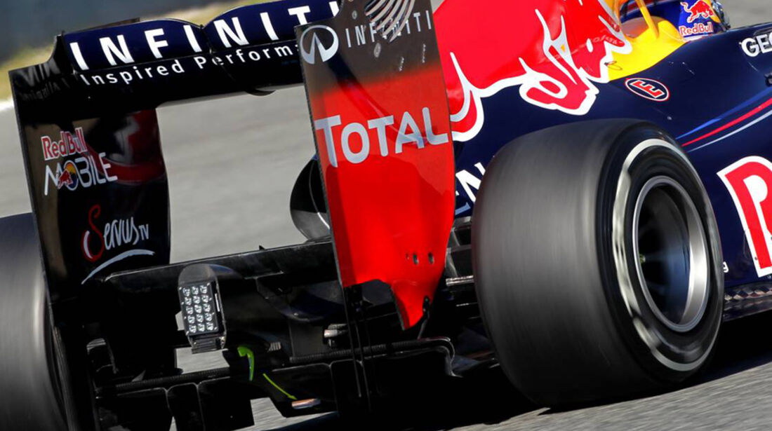 Red Bull RB8 2012 Technik Jerez