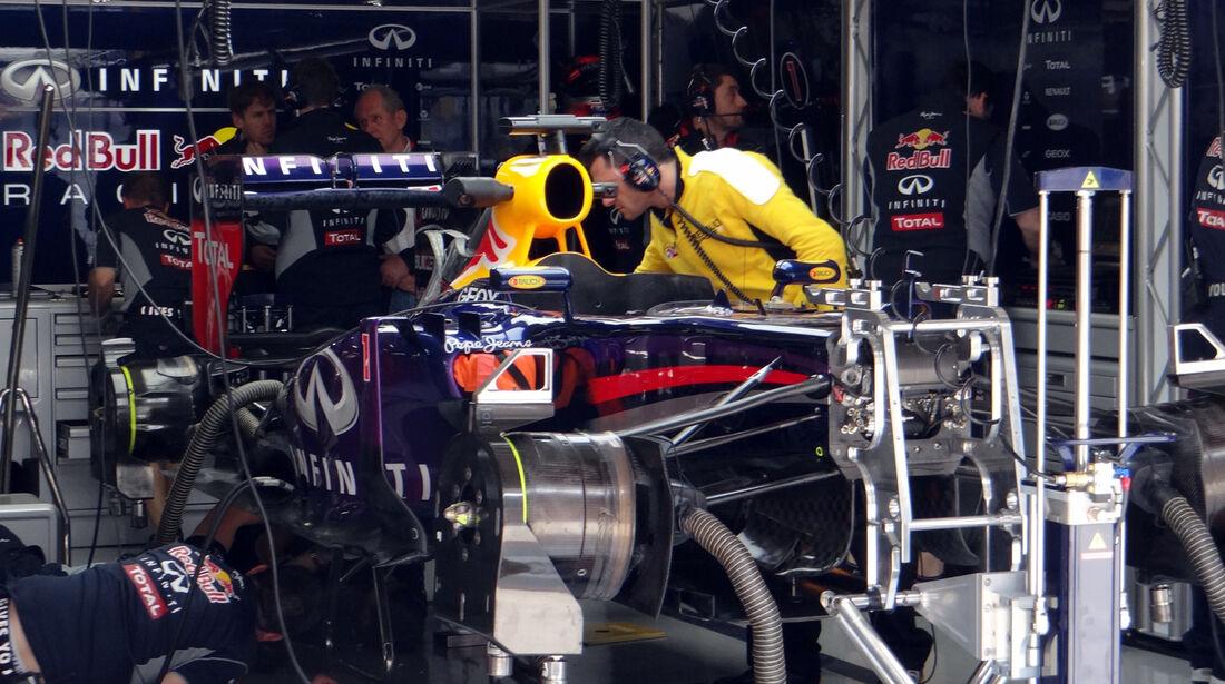 Red Bull Sebastian Vettel - Formel 1 - GP China - 12. April 2013