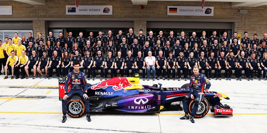 Red Bull Teamfoto - 2013