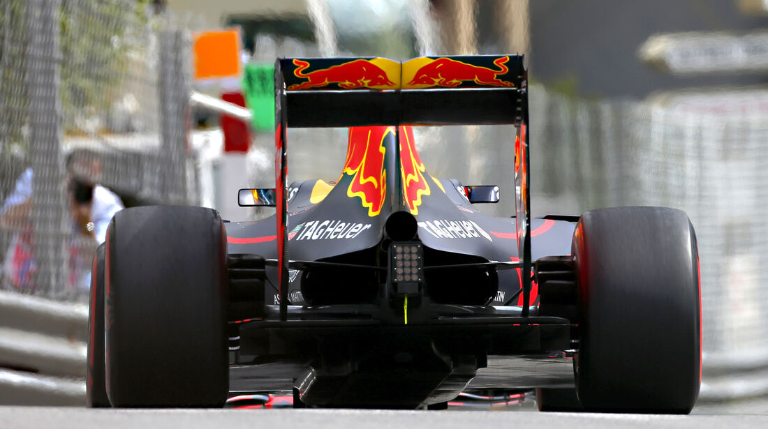 Red Bull - Technik - GP Monaco 2016