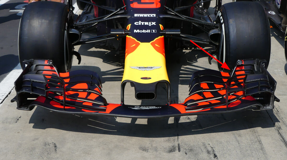 Red Bull - Technik - Upgrades - GP Belgien / GP Italien 2018