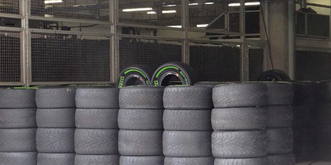 Reifen - Formel 1 - GP China - 11. April 2012