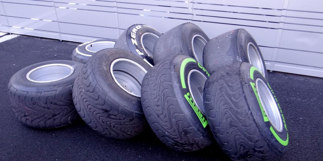 Reifen - Formel 1-Test - Mugello - 2. Mai 2012