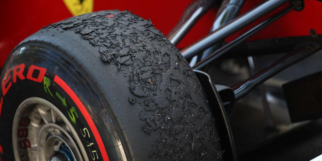 Reifen GP Monaco 2011