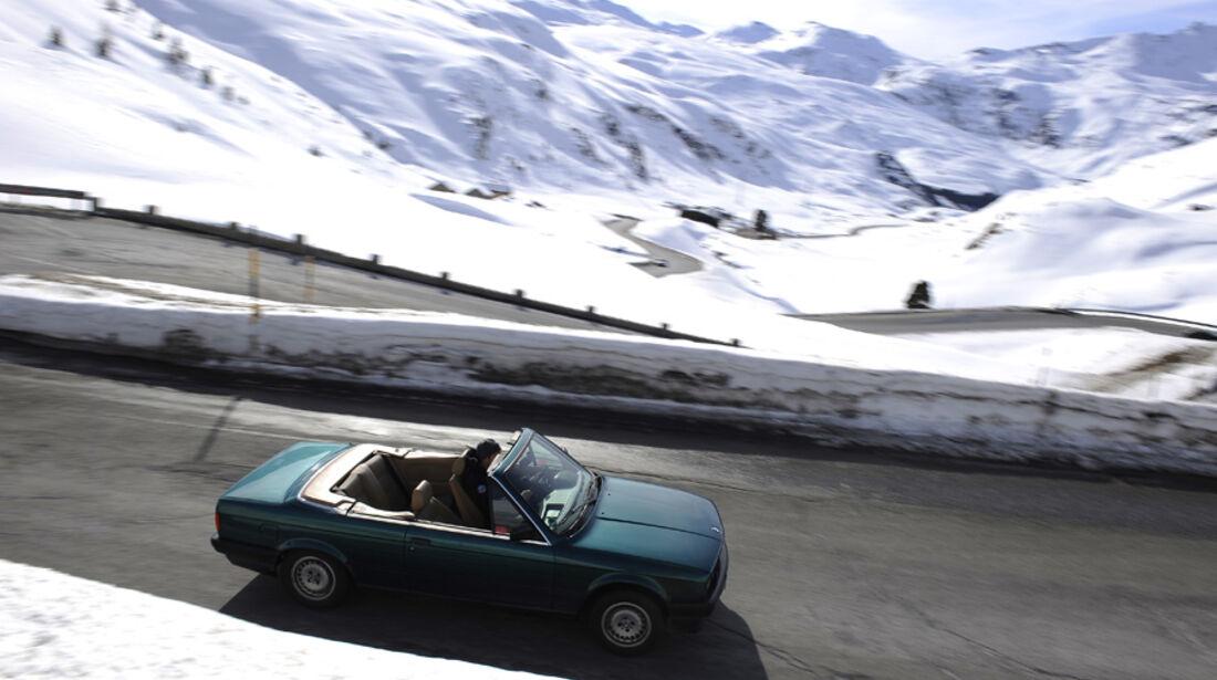 Reise Livigno, BMW 318i Cabriolet