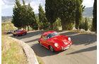 Reise mit Klassiker, Porsche, Ferrari