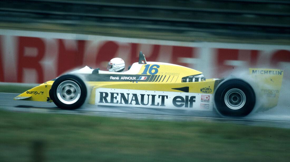 Renault - 1980 - GP Deutschland - Hockenheim - F1