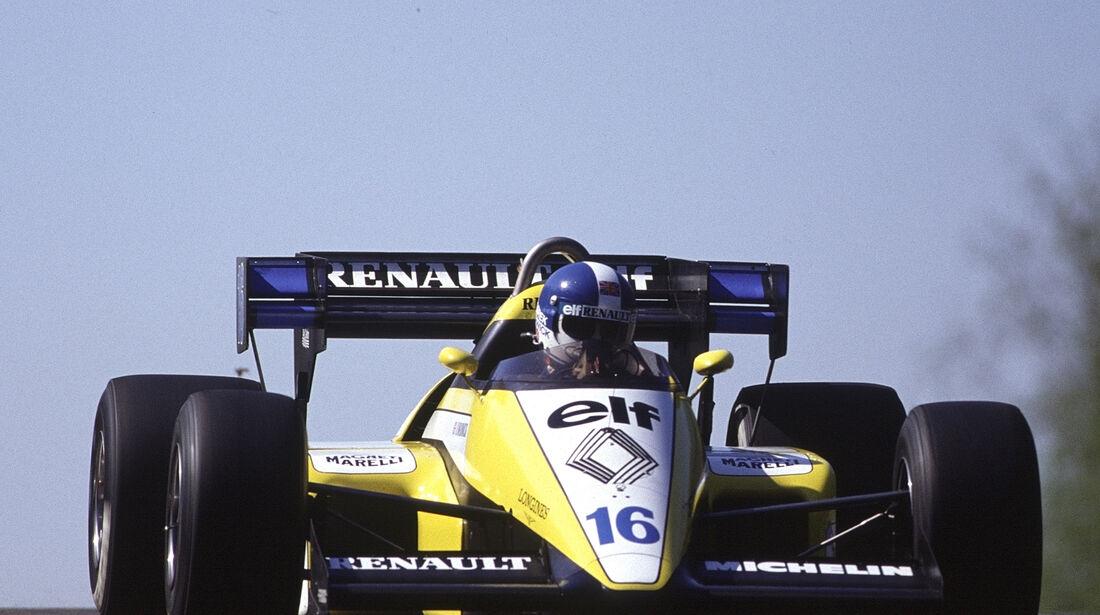 Renault - 1984 - GP Belgien - Zolder - F1