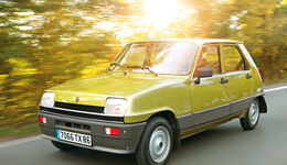 Renault 5, Frontansicht