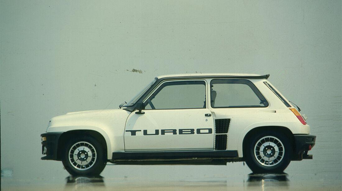 Renault 5 Turbo - Seitenansicht