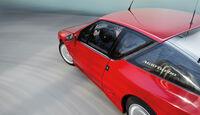 Renault Alpine A 610 Turbo, Kurvenfahrt