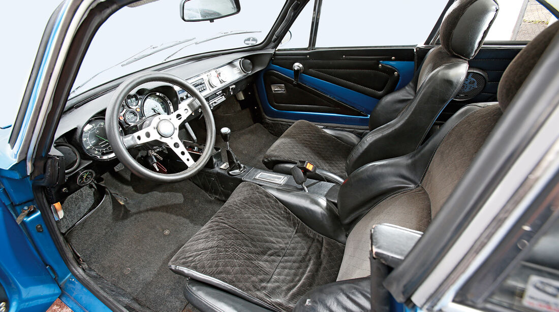 Renault Alpine A110 1300 VC, Cockpit, Sitze