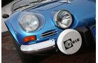 Renault Alpine A110 1300 VC, Frontscheinwerfer