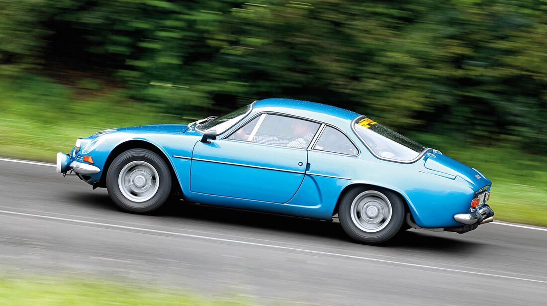 Renault Alpine A110 1300 VC, Seitenansicht