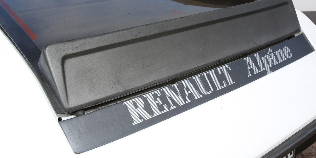 Renault Alpine A310 V6, Typenbezeichnung