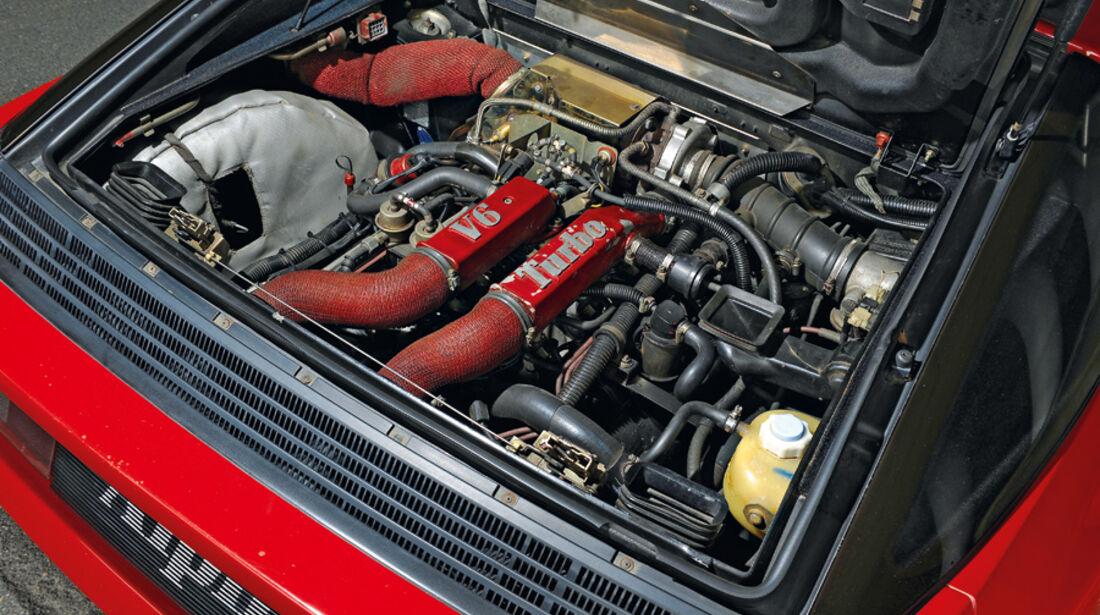 Renault Alpine V6 Turbo (A 502), Baujahr 1990, Motor