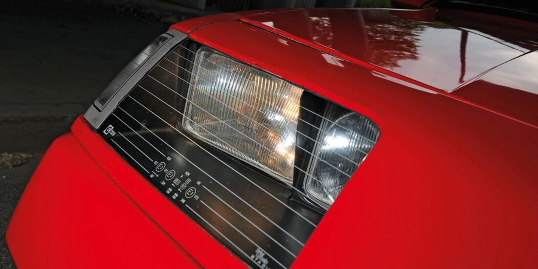 Renault Alpine V6 Turbo (A 502), Baujahr 1990, Scheinwerfer