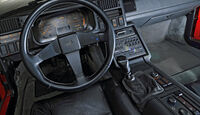 Renault Alpine V6 Turbo (A 502), Baujahr 1990, cockpit