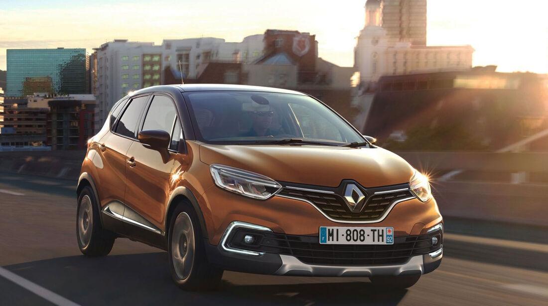 Renault Captur Facelift 2017